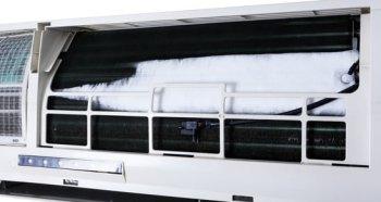 Unidad de aire acondicionado split congelandose