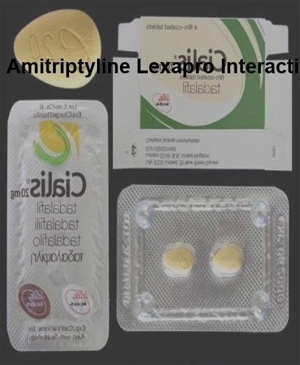 Can you take amitriptyline and lexapro together ‒ www.aire.org