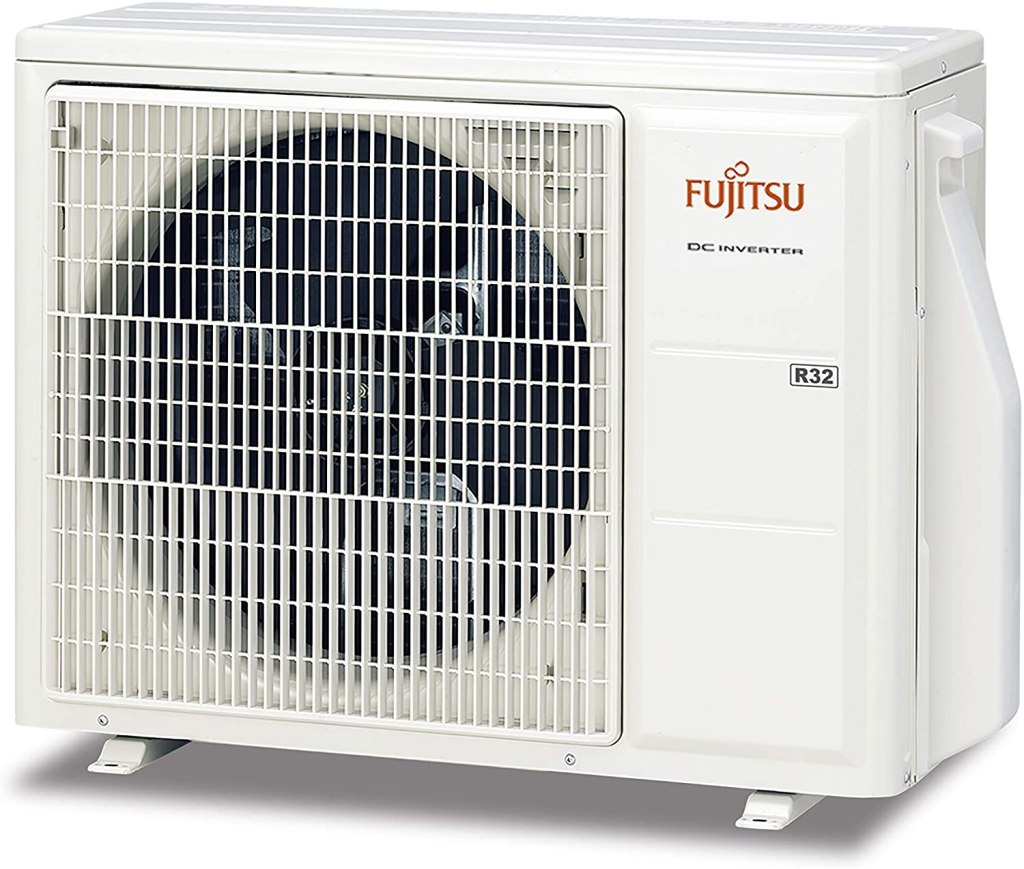 Ejemplo de unidad exterior de aire acondicionado