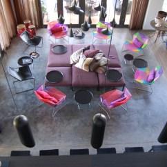 Industrial Kitchen Island Floor Tiles W Retreat & Spa, Vieques | Aireko