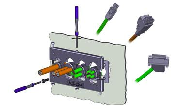 集線板/Cable Entry Plate Systems - 航電企業有限公司