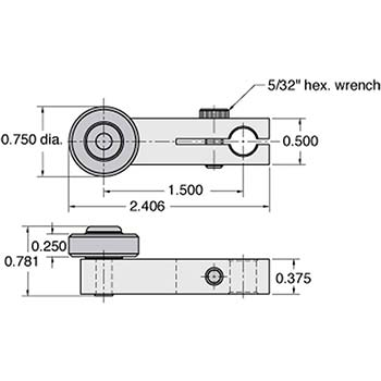 Actuator Roller Arm (AR-K)