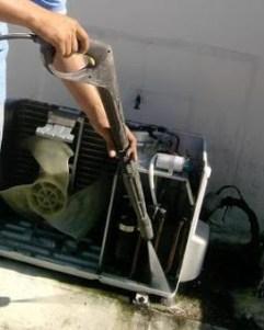Como lavar un aire acondicionado tipo consola split sin for Consola de tipo industrial