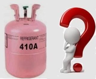 Como cargar refrigerante R410a preguntas y respuestas