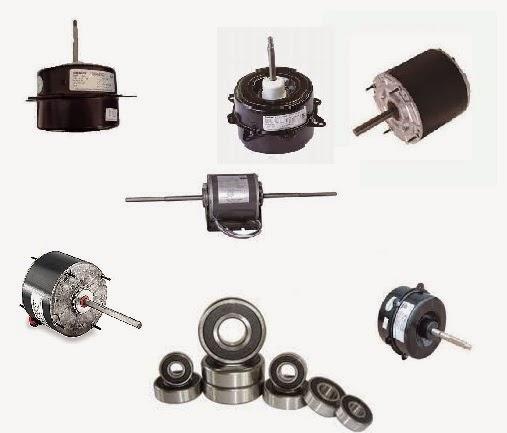 Cambiar los rodamientos a un motor ventilador aires for Temperatura de salida de aire acondicionado split