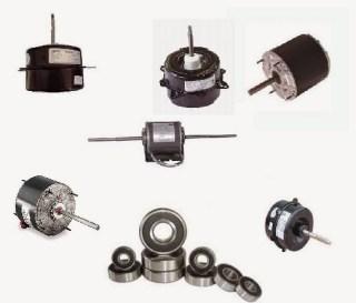 Cambiar los rodamientos a un motor ventilador