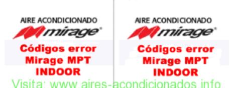 codigos-error-mirage-mpt-indoor-y-mirage-vlu-series