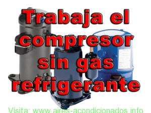 trabaja-el-compresor-sin-gas-refrigerante