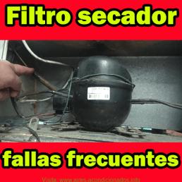 Filtro secador fallas frecuentes