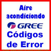 Códigos de Error Gree