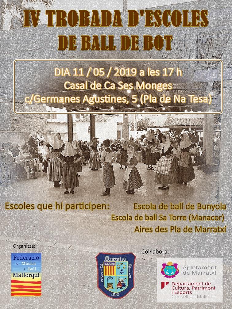 IV Trobada d'escoles de ball de bot a Marratxí
