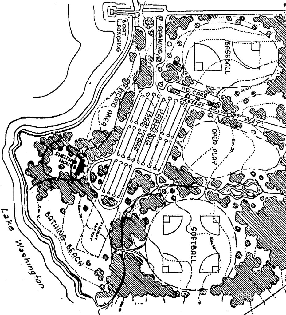 A diagram from a 9 19 57 newspaper article courtesy of lee corbin showed a plan for a proposed newport county park to be constructed on the site of lake
