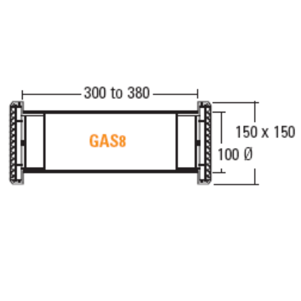 G.A.S.8/4 4″ CORE DRILL VENT 400mm « Airflow