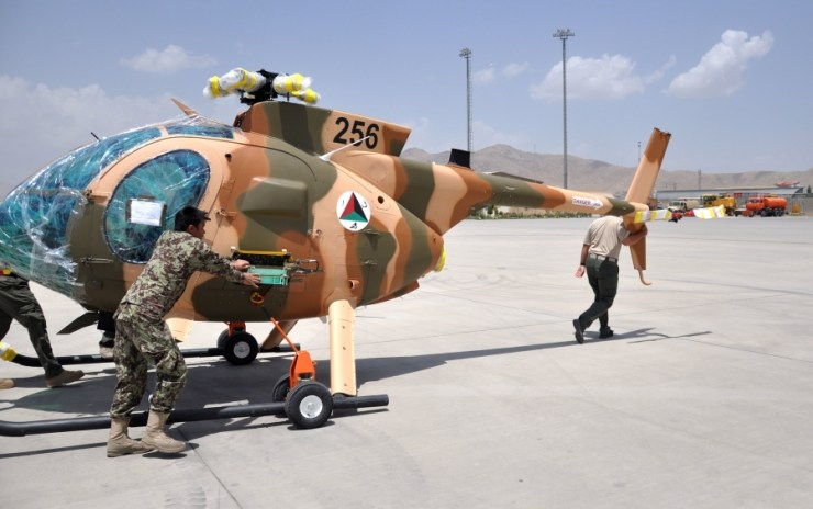 9787 Потребность в авианаводчиках для Афганистана резко возросла