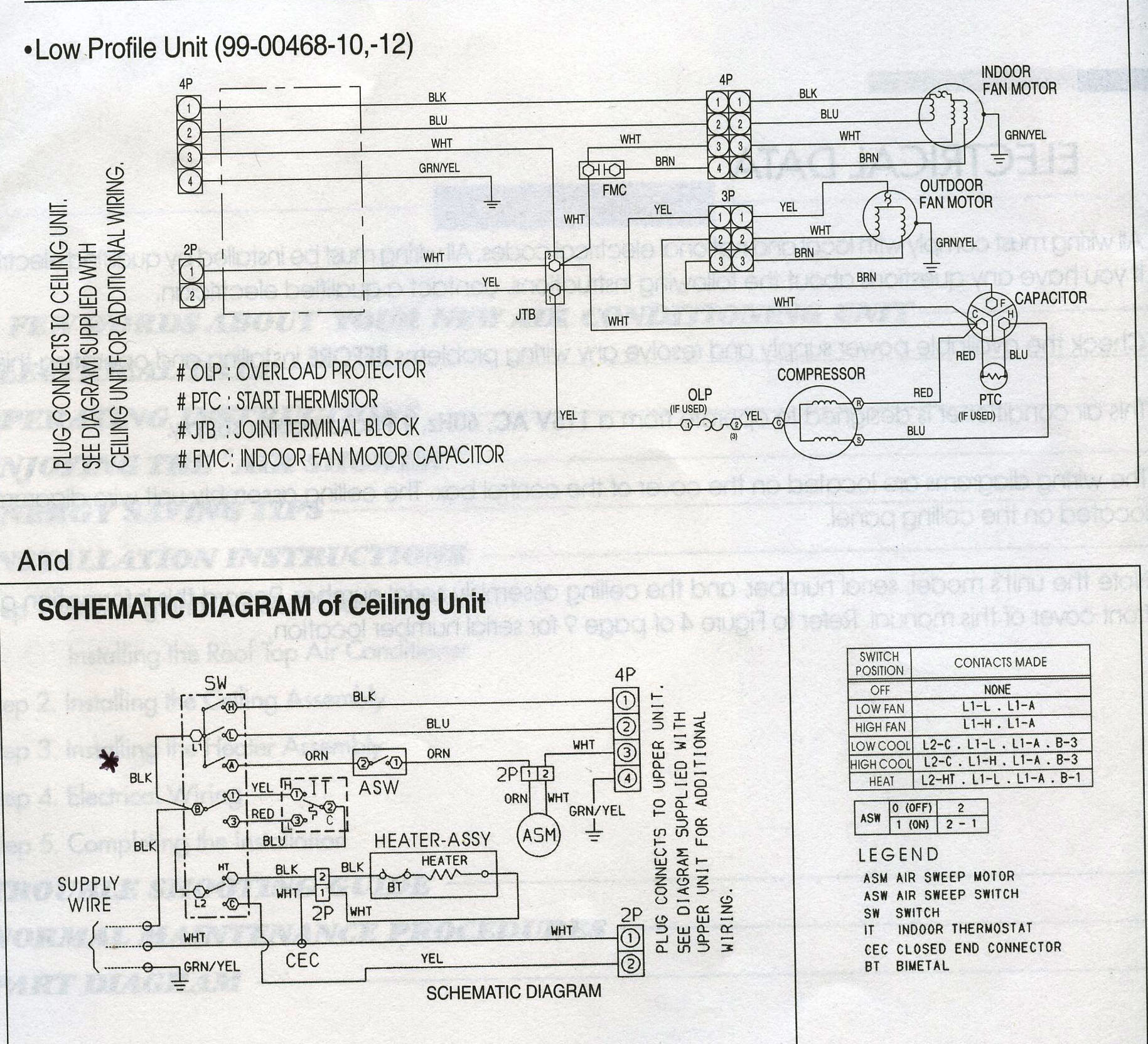 carrier wiring diagram air handler 99 tj bus ac get free image about