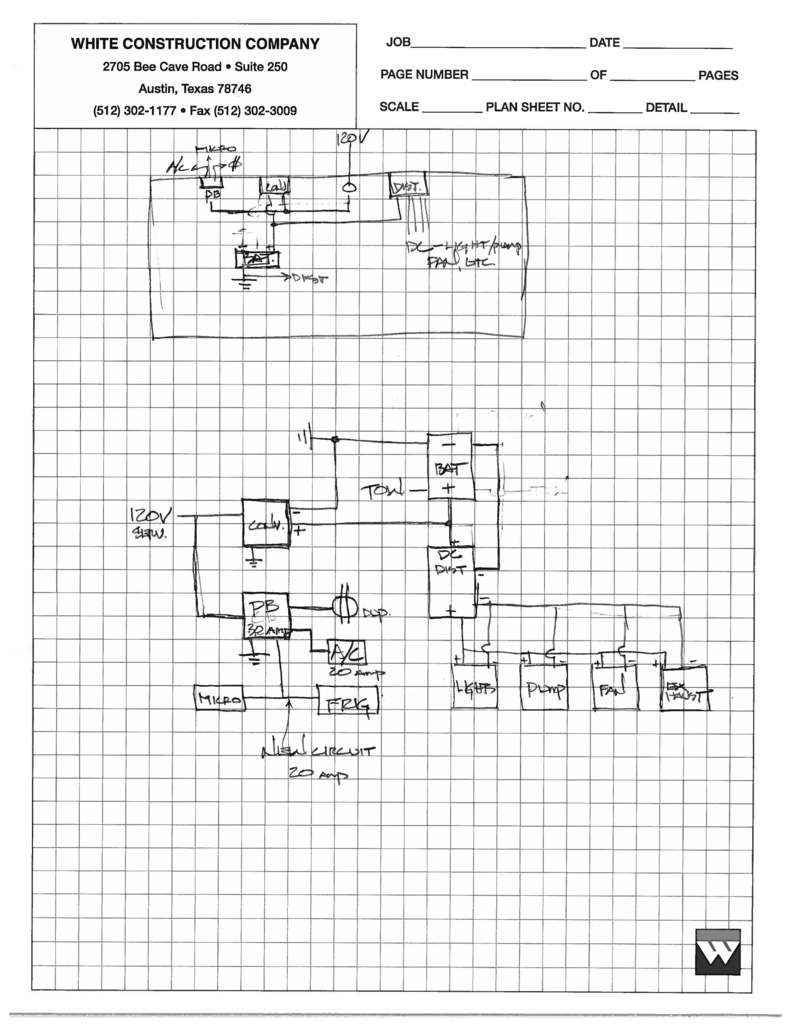 medium resolution of electrical system upgrade diagram airstream forums caravel schematics for ac dc electrical plumbing and gas lines