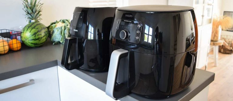 large-philips-air-fryer-counter