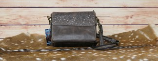 Leather Shoulder Clutch