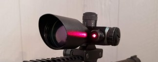 Tactical Rifle Scope Laser