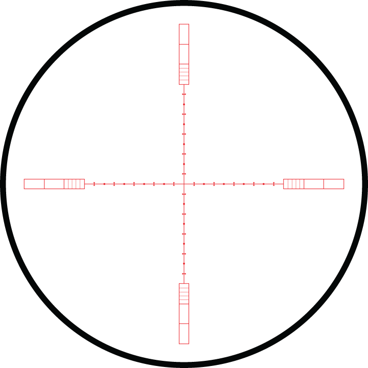 Hawke Sidewinder 6-24x56 IR SF 1/2 Mil-Dot