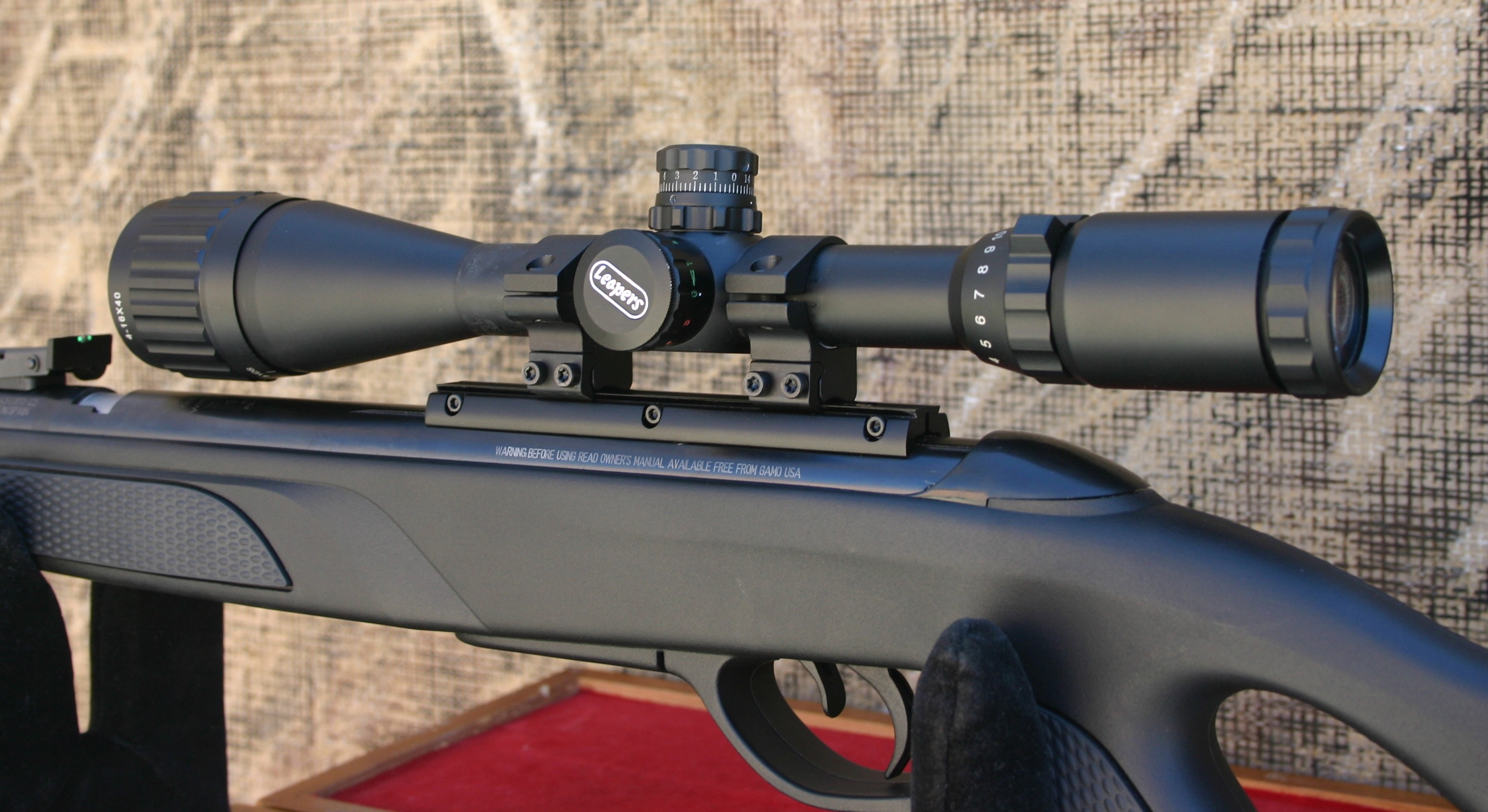 Mini Airgun Review - Gamo CFR Whisper with Red Fire Pellets