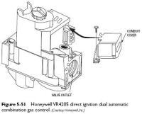 Continuous Pilot Dual Automatic Gas Valve | Heater Service ...