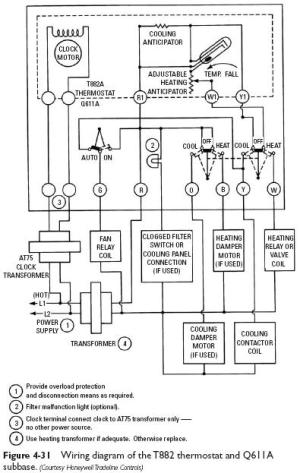 Honeywell 6000 Thermostat Wiring Diagram  Auto Electrical Wiring Diagram