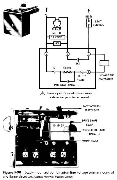 Oil Furnace Stack Control Wiring Diagram Oil Furnace Valve