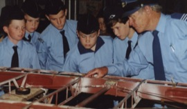 Cadets study aircraft construction