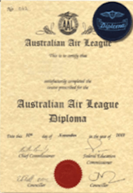 Australian Air League diploma