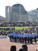 ANZAC Day Service at the Australian War Memorial
