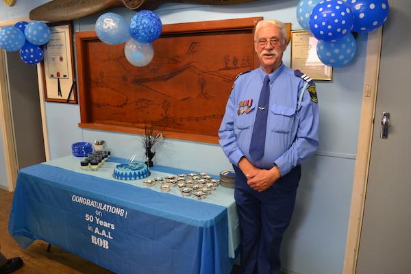 Gp.Lt Robert Robey celebrates 50 years