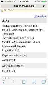 Japan Airlines flight tracker