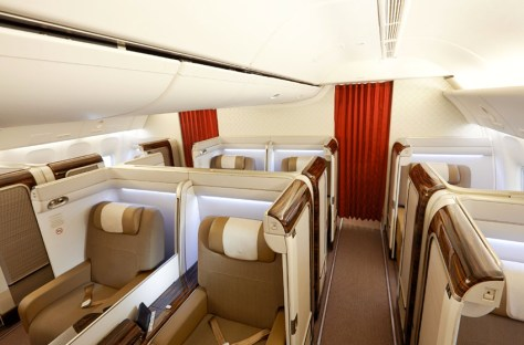 Image result for garuda indonesia first class