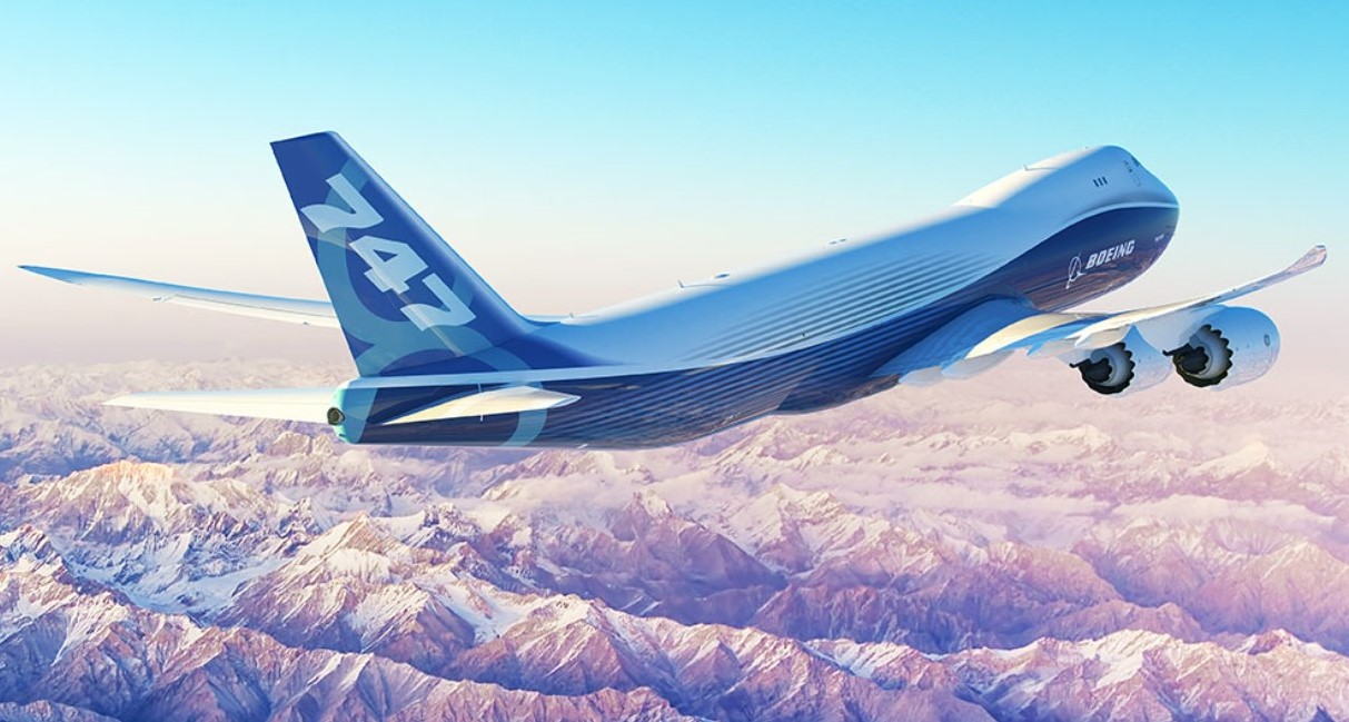 boeing 747 8f to