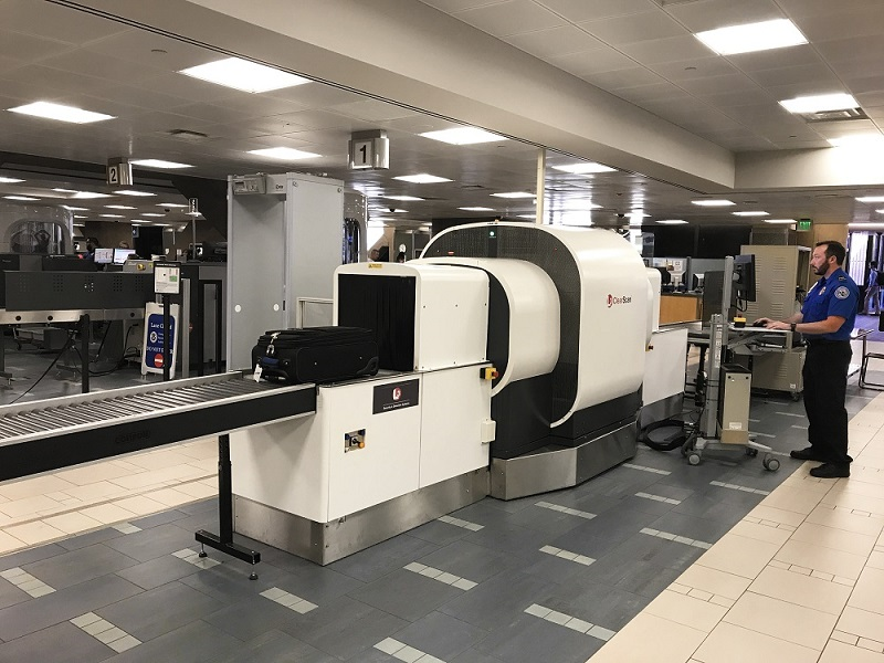 Mobile Security X Ray Machine