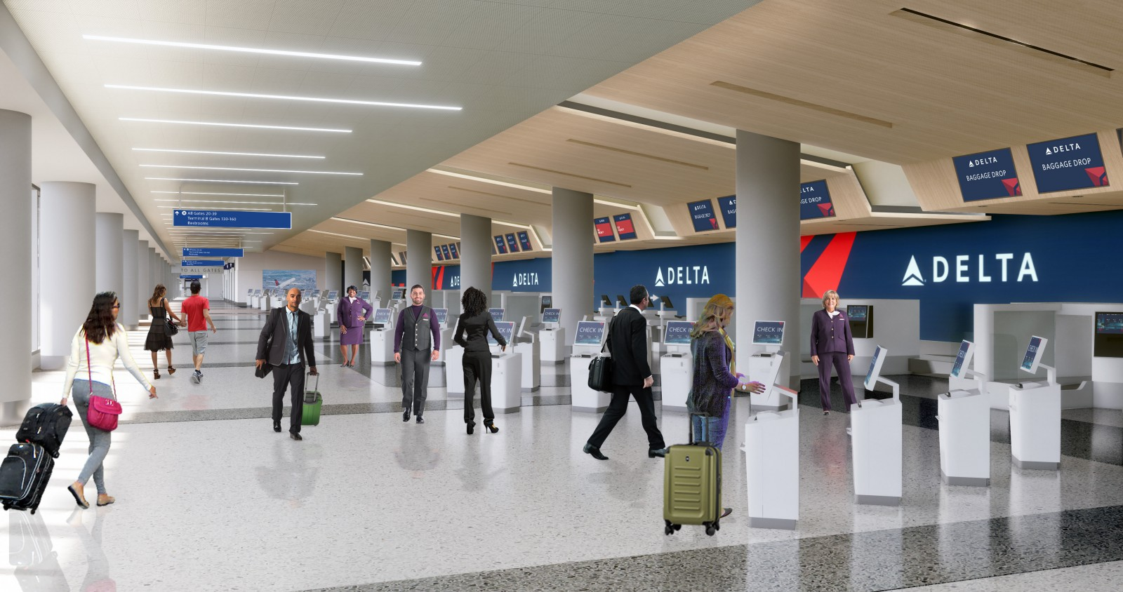 US186 billion airport upgrade to rewrite Deltas LA