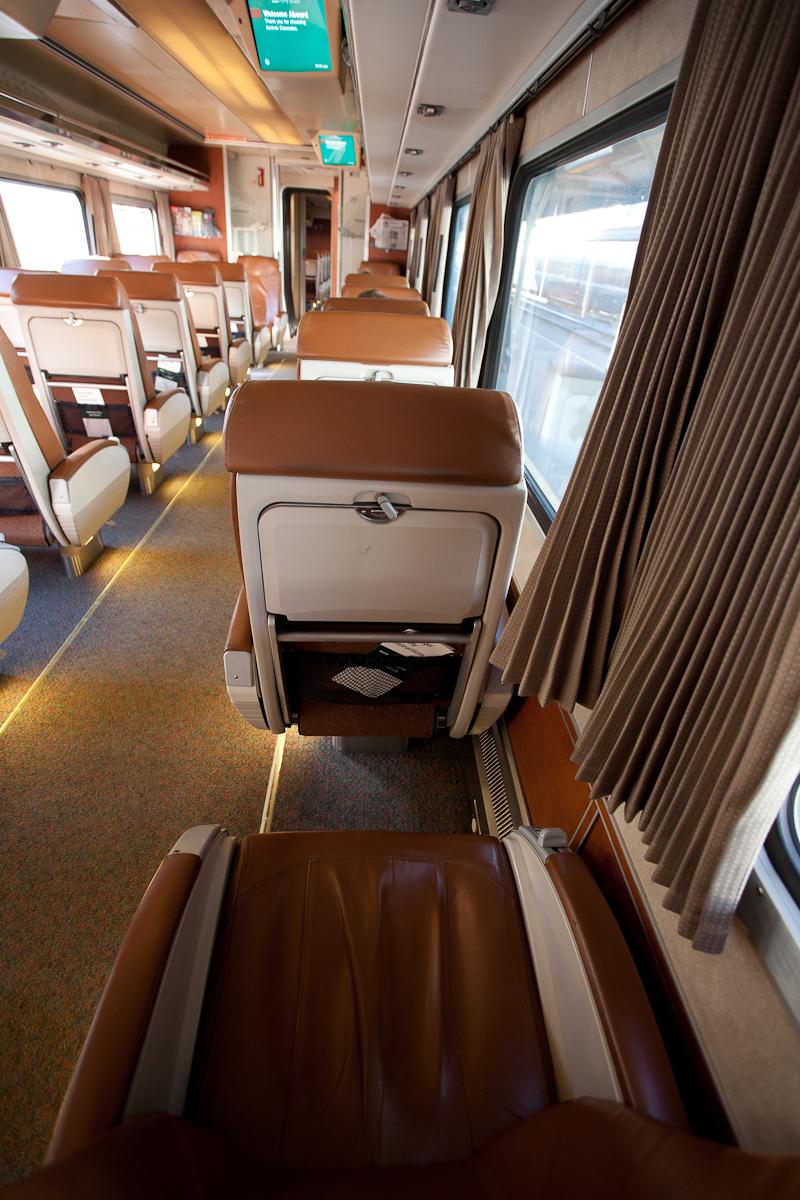 Plane Vs Train Guest Review of Amtrak Business Class