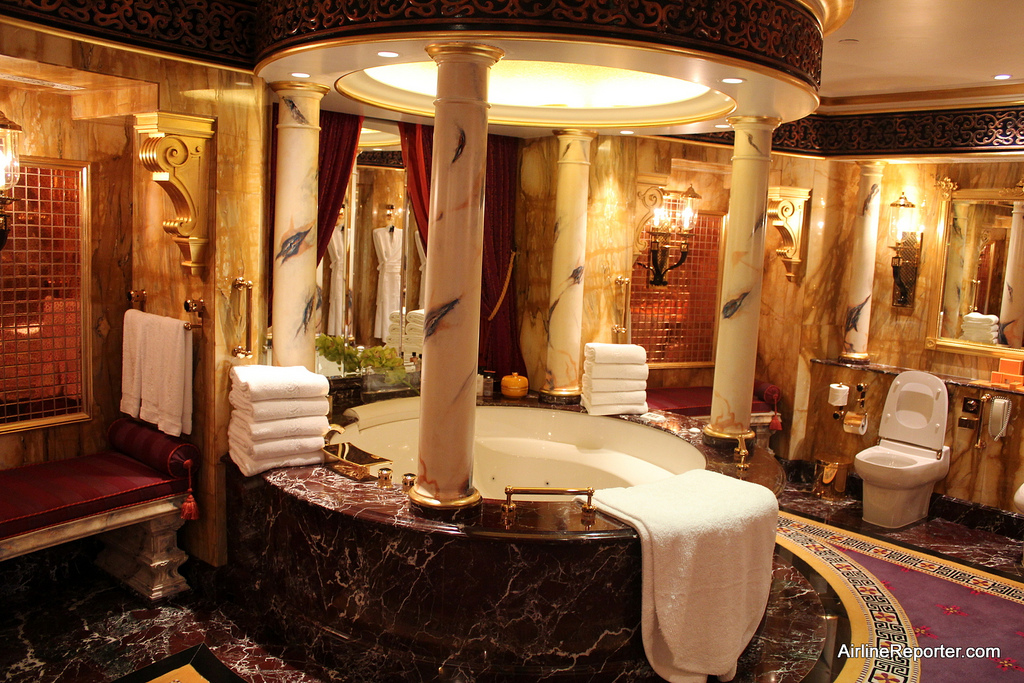Only In Dubai Tour Of The Worlds Seven Star Hotel The