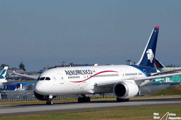 Epic Avgeek Photo Aeromexico39s First 787 Dreamliner
