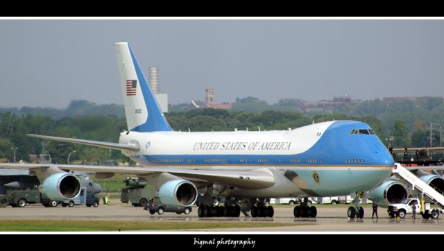 The Boeing VC-25A is the current aircraft used to fly around the President of the United States