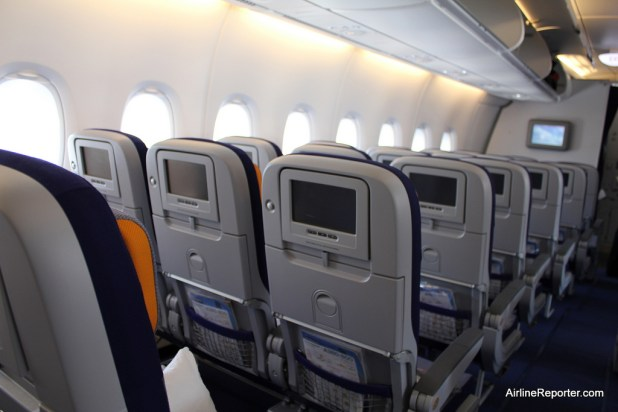 The Economy Product On Lufthansa A380