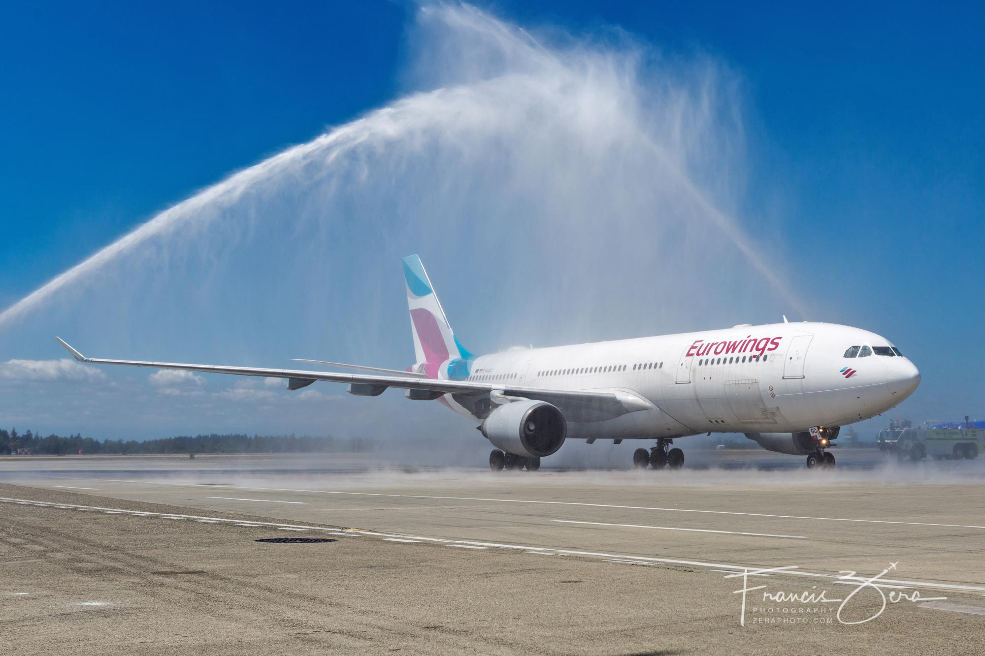 A Eurowings A330 Makes Its Way to Seattle  AirlineReporter  AirlineReporter