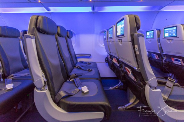 JetBlue's main cabin still boasts one of the highest domestic seat pitches.
