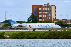 Aruba Airlines flight 1130 to LSP (Las Piedras, Venezuela) carried by C-FXLH a CR2.