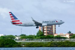 American Airlines flight 1346 from CLT carried by N963NN, a B738.