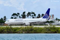 Copa Airlines flight 505 to PTY (Panama City) carried by HP-1714CMP, a B738.