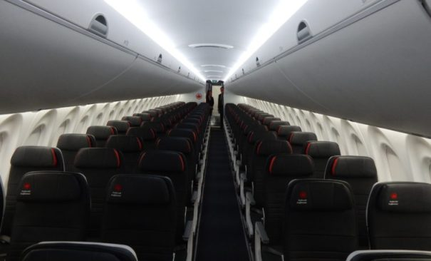 Air Canada's Economy Class on the A220