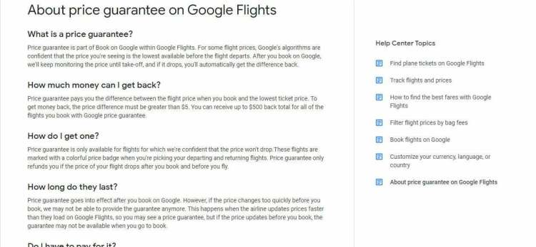 flights usa google