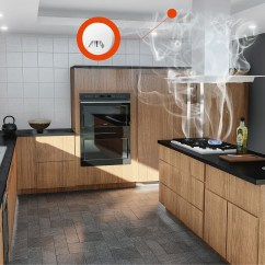 Kitchen Smoke Detector Farmhouse Sinks Si 104 Z Wave Plus Product List Smart Home Alert You About Fire Breaking Out
